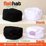Jual topi koki putih