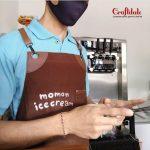 apron barista coffee